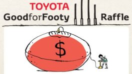 Toyota Good for Footy